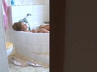 Anja and Katja – 3 – Lesbian Having Amusing within the Toilet