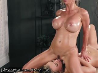 Alexis Fawx makes Natalia Starr Cum from Thai Therapeutic massage Tactics