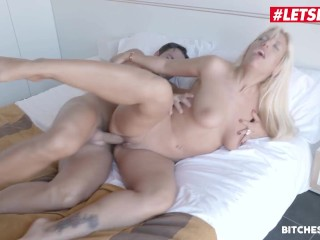 BitchesAbroad – Large Knockers Argentinian Blondie Fesser Fucked Arduous In Her Commute To Spain – LETSDOEIT
