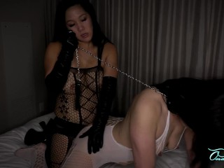 2 Korean Milfs Strap On Leather-based Gloves Preview
