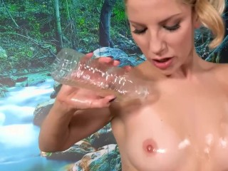 18 year previous babe will get creampied and fucked exhausting via scorching stud with 6 pack