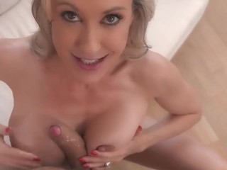 milf brandi love fucked with dripping creampie