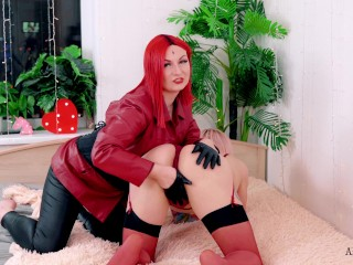 House LockDown play of lovely Mistress along with her shemale ts woman 4k video