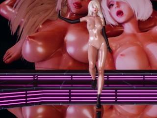 [MMD] LAYSHA – Chocolate Cream Nude Vers. 2B A2 NierAutomata three-D Erotic Dance