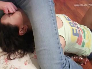 Denims Lezdom | Angelina & Lara