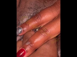 Foot Fucking His stepsister's Rainy Pussy
