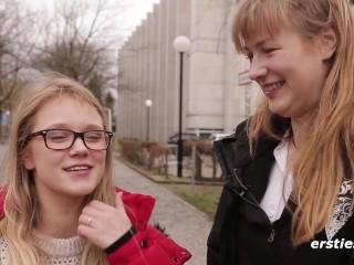 Versaute Leseratten – Zwei Studentinnen treiben es in ihrer Bibliothek