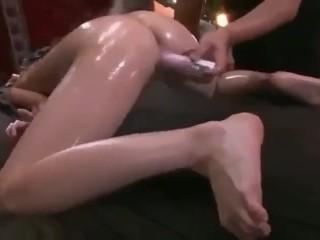 SEX after massaging a Eastern girl