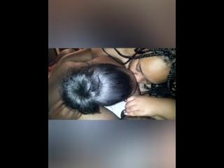 Ebony couple run a educate on bbw slut
