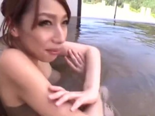 Attractive Eastern Asian Lady Spa Erotic Therapeutic massage Voyeur