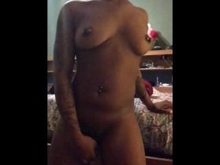 Shy Lady Velvet Enjoying With Herself Til She Cums