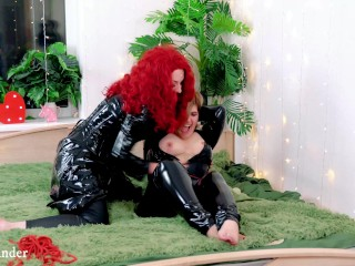 Loose Porn Video Of Fetish Lesbians Tickling Arya Grander and submissive MILF