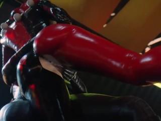 【MMD R-18 SEX DANCE】HOT GAME OF TITS HOT PUSSY MASTURBATION激しい性交 [MMD]