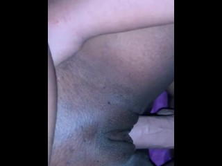 Creamy Fats Pussy On Strap