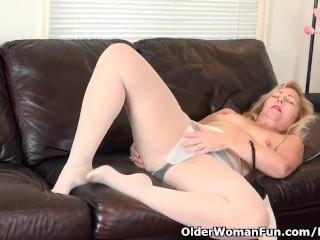 American milf Gemma wishes orgasmic excitement