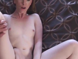 ginger stepdaughter takes fats dick up her bushy twat pov