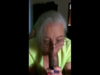 Mature Mother give head for Wonderful Blowjob