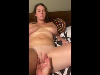 Attractive MILF love when somebody play along with her pussy