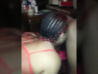 black spouse consuming her pal's ass