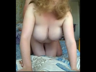 Adorable Teenager w Giant Herbal Titties cumming laborious