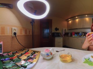 Bare Cooking VR 360 Cooking a Gentle Breakfast