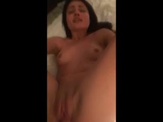 Adorable Tiny Teenager Stepsister ADRIA RAE Fucked Through Stepbro