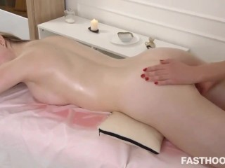 Lesbian First Time Therapeutic massage Rainy Pussy