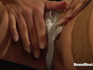 Lesbian Madame Sits On Lady Face And Orgasms Exhausting