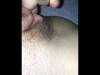 Toes masturbation