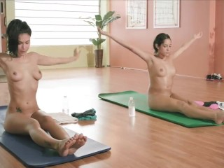 Playboy television scorching yoga episode 2