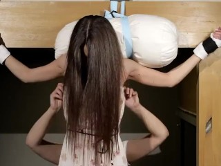 Irina Standup Tickle Treatment (Inside of)
