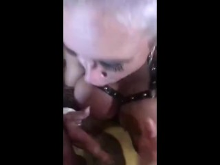 Two Hungry MILF Sluts Proportion Younger Man