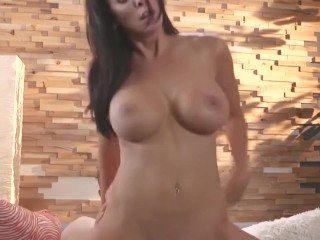 sweetsinner busty cougar reagan has interest with younger lover
