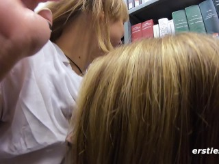 Die Studentinnen Holly & Ida treiben es in der Bibliothek