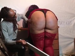 Spanking naughty faculty woman