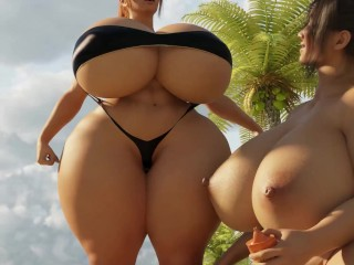 Summer time Giantess Expansion