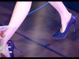 [MMD] Wisin & Yandel – Practice The Chief Ahri Kaisa Seraphine Akali Lux Sizzling Dance 4K UHD 60FPS