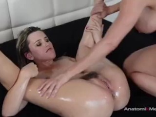 Lesbian strapon submission