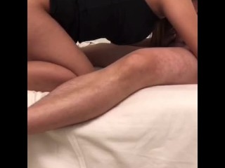Thai therapeutic massage become intercourse, cum on pussy on the finish