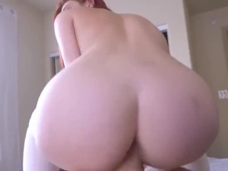 youngster redhead lacy lennon fucks stepdaddy for pov facial