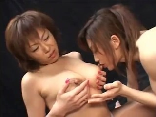 Lactating asian lesbians