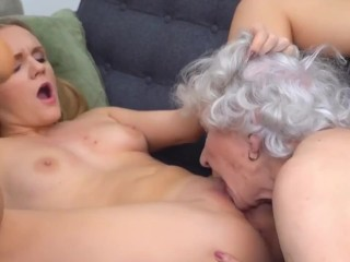 lady seduces previous granny