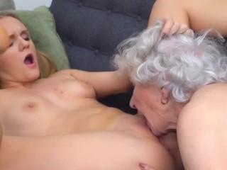 lady seduces previous granny
