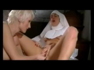 Naughty Nuns pray to CUM