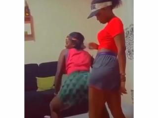 Da_girl twerking