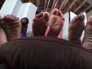 (HFW) Tasty Toes In a position To Be Slobbered!