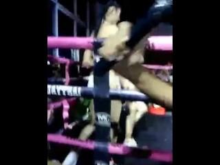 Stunning thai boxing