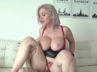 busty milf makes use of step son for sexual unencumber