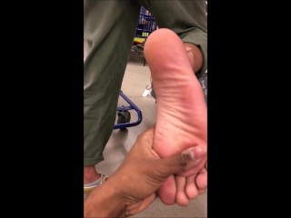 Once i requested she gave the Soles