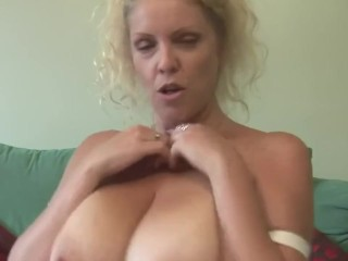 large titted british mom presentations off nice rack and